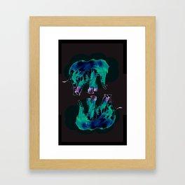 Traveling On Framed Art Print