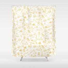 ADVENTURE SEEKER Shower Curtain