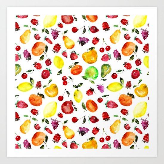 Tutti-frutti Art Print