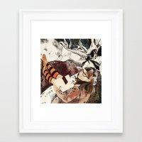surrealism Framed Art Prints featuring Surrealism by Samantha Groenestyn