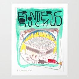 """Pontiac, the Nightbrink"" / Frontier Ruckus Song Illustrations, Series 1 (3/15) Art Print"