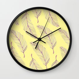Palm Dreams Wall Clock