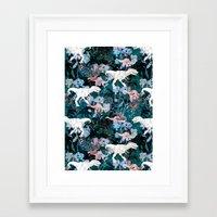 jurassic park Framed Art Prints featuring Jurassic by Bobo1325