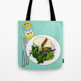 Healthy Falafel Wrap Lunch Tote Bag
