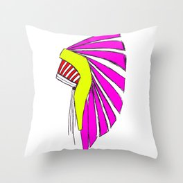 Indian in the Cupboard Throw Pillow