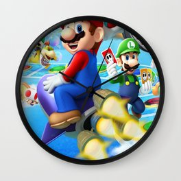 Mario Super Bros Wall Clock