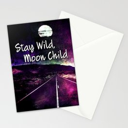 441 Stay Wild Moon Child Stationery Cards