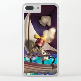The Old Man and the Sea Clear iPhone Case
