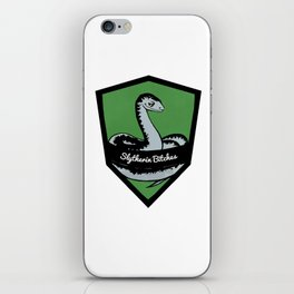 Slytherin Bitches! iPhone Skin
