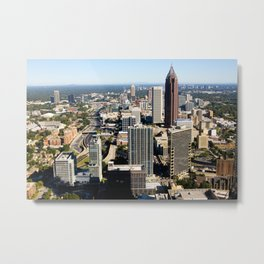 Downtown Atlanta, GA Metal Print