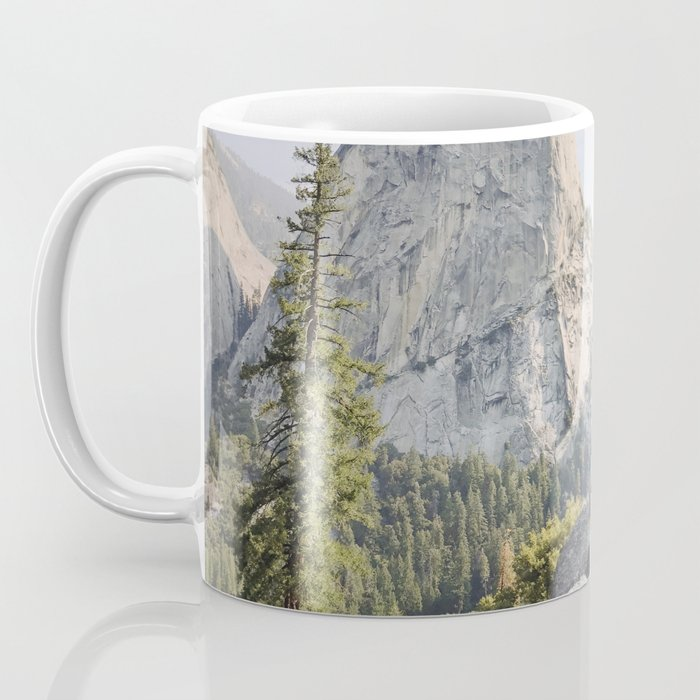 Liberty Cap and Nevada Falls in Morning Light Coffee Mug
