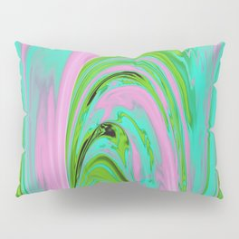The Flaring Falls of Strine Canyons (Jungle Variant) Pillow Sham