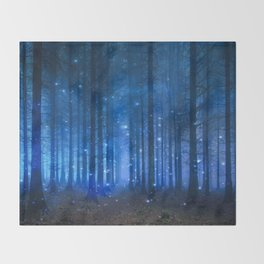 Dreamy Woods II Throw Blanket