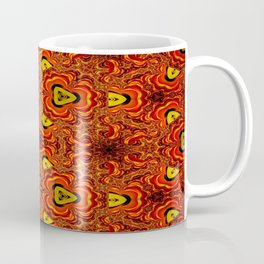 Concave Stature Pattern 6 Coffee Mug