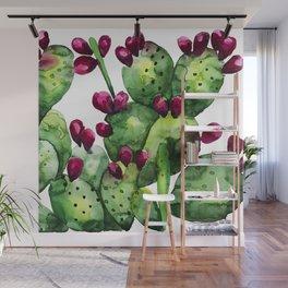 Prickly, Prickly Pear Cactus Wall Mural
