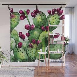 Prickly, Prickly Pear Cactus Wall Mural