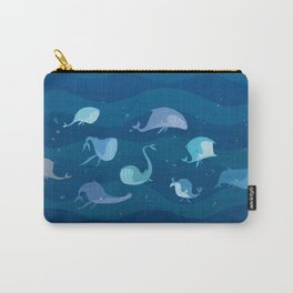 Lil' Whales Carry-All Pouch