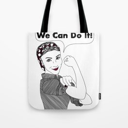 We Can Do It!     Women Power Tote Bag