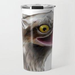 Potoo gryphon Travel Mug