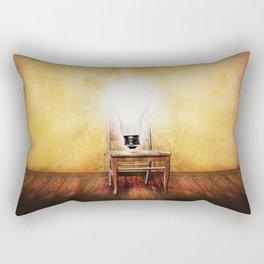 The Seat of Big Ideas Rectangular Pillow