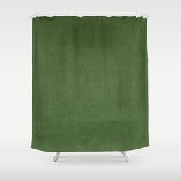 Sage Green Velvet texture Shower Curtain