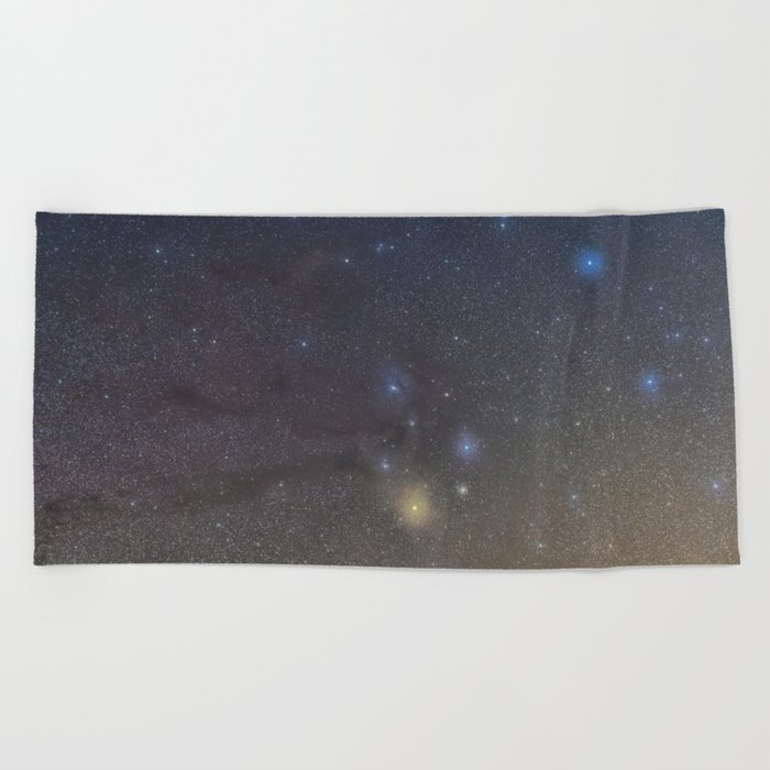 Antares region Beach Towel