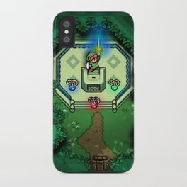 Zelda Link to the Past Master Sword iPhone Case