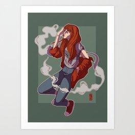 asuka Art Print