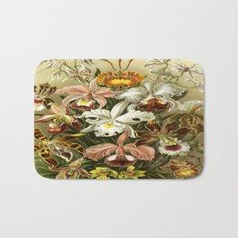 Ernst Haeckel Kunstformen der Nature Orchids Bath Mat