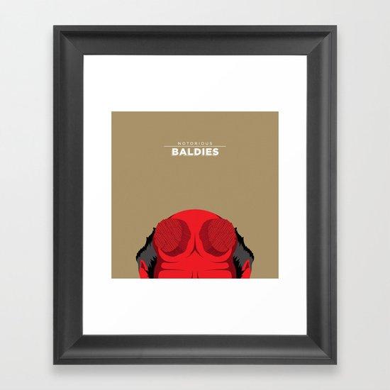 Hellboy Framed Art Print