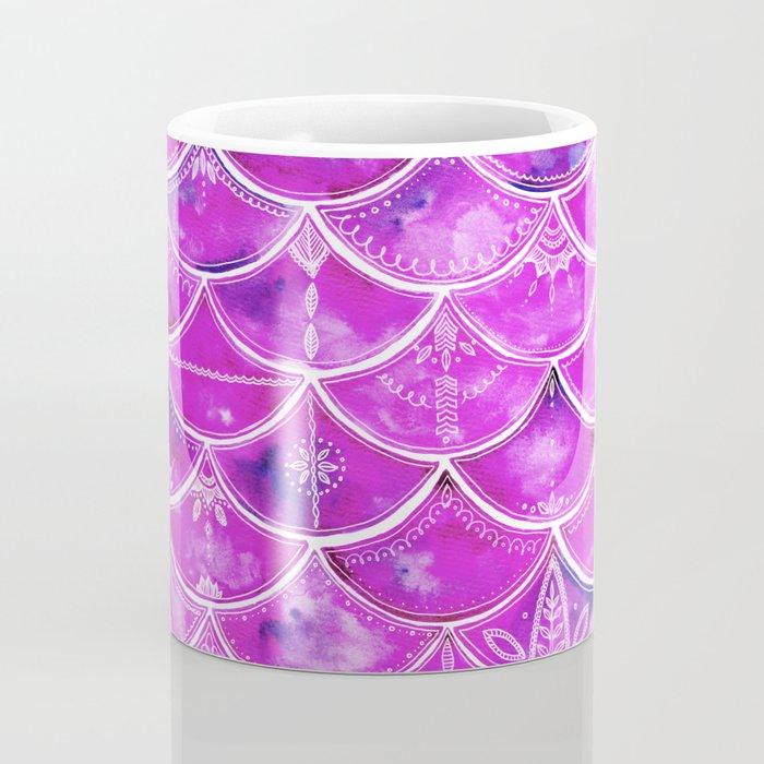 Mermaid Dreaming In Pink Coffee Mug