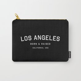 Los Angeles - CA, USA (Black Arc) Carry-All Pouch