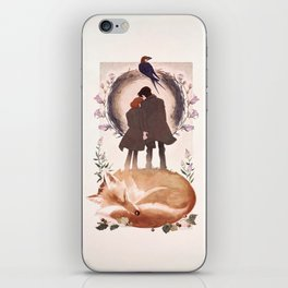 Fable of Mulder and Scully iPhone Skin