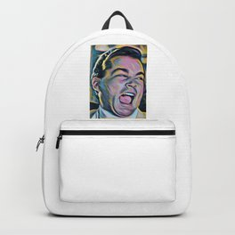Ray Liotta Laugh mafia gangster movie Goodfellas painting Backpack