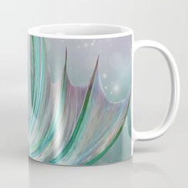 Mermaid, Ocean Sea, Pastel Purple,Teal, Green Coffee Mug