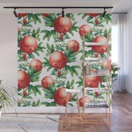 Pomegranate pattern II Wall Mural