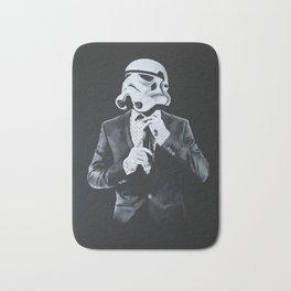 Stormtrooper in smoking Bath Mat