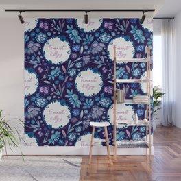 Feminist Killjoy - A Floral Pattern Wall Mural