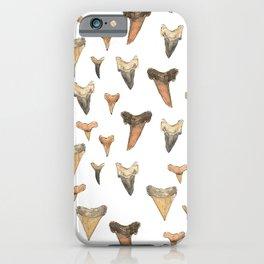 Shark Teeth Study iPhone Case