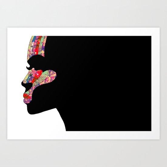 EL PERFIL Art Print