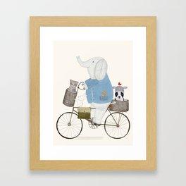 little pets Framed Art Print