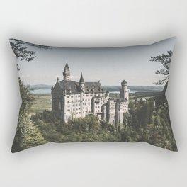 Neuschwanstein fairytale Castle - Landscape Photography Rectangular Pillow