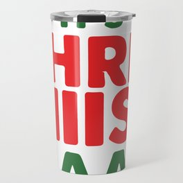 It's Christmas Noddy Holder Funny Travel Mug