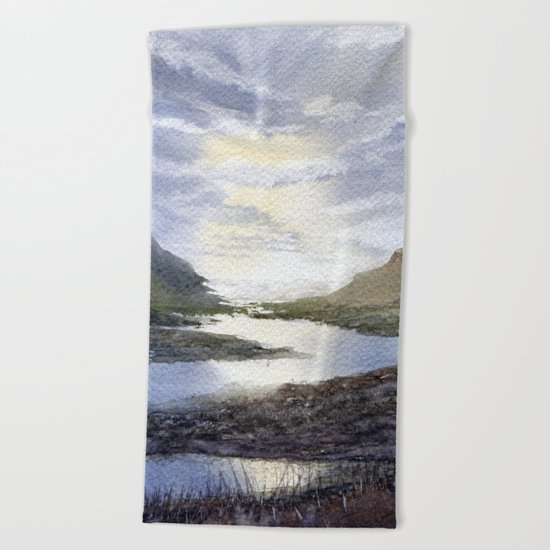 Winding Beach Towel
