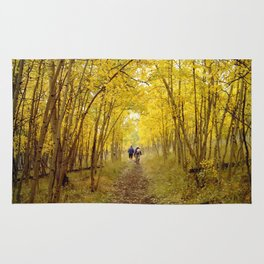 Fall's Golden Tunnel Rug