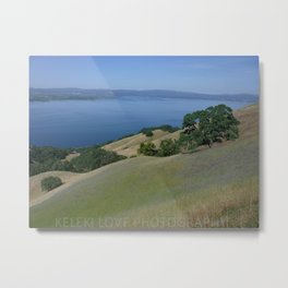 Blue Sky. Green Mountain. Metal Print