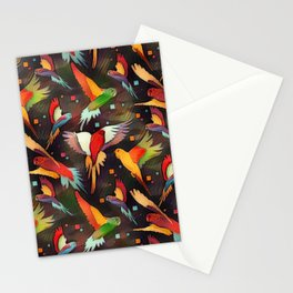 Fluttering Wings of Color Stationery Cards