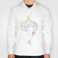 no face Hoodies featuring Face by Liyu