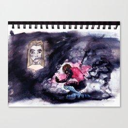 Mental Attack Canvas Print