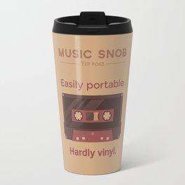 Cassettes. — Music Snob Tip #062 Travel Mug